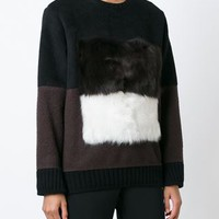 Fendi Colour Block Sweater - Jofré - Farfetch.com