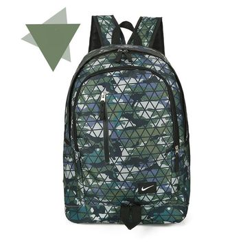 NIKE camouflage  Casual Sport Laptop Bag Shoulder School Bag Backpack H-A-MPSJBSC