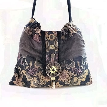20 OFF Hobo purse boho tapestry slouch bag tote hip by BoudicaBags