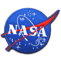 3D embroidery cloth paste NASA NASA -sided patch armband Badge military patches badges morale patches
