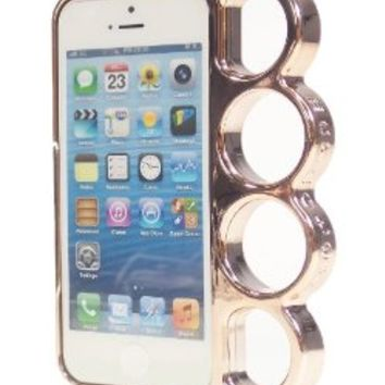 WwWSuppliers Champagne Light Bronze Rings Case for iPhone 4 4G 4S Cover in Retail Package + Free Stylus & Front/Back Screen Protector