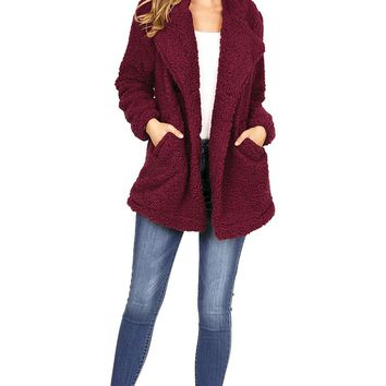 Downtown Teddy Coat