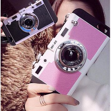3D Camera Best Protection iPhone 7 7Plus & iPhone 6s 6 Plus Case Personal Tailor Cover + Gift Box
