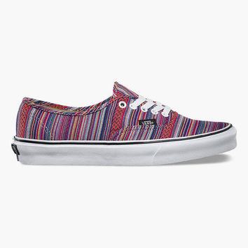 Vans Guate Weave Authentic Womens Shoes Multi  In Sizes