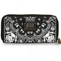 """STORM TROOPER"" BANDANA WALLET BY LOUNGEFLY (BLACK)"