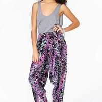 Perrenial Bloom Harem Pants