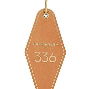 ONETOW gold hotel diamond 336 keychain by balenciaga 2