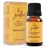 Energy Booster Anti-Fatigue Essential Oil Blend- 100% Natural Pure
