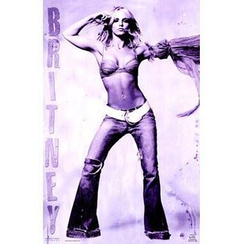 BRITNEY SPEARS POSTER Hot Sexy Shot RARE NEW 24x36