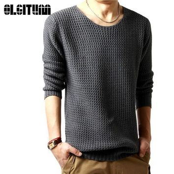 Free shipping pullover hoodies male o-neck sweatershirt 2017 spring long sleeved turtleneck knitted men 3 colors SW146