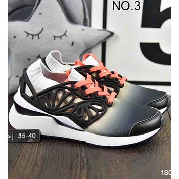 Puma Pearl Cage x Sophia Webster Joint Joker Knit Running Shoes F-A36H-MY NO.3