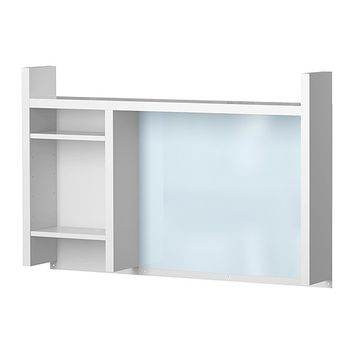MICKE Add-on unit-high - white  - IKEA