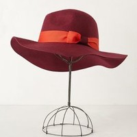 Zaffre Fedora by Anthropologie Red One Size Hats