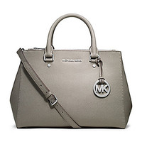 MICHAEL Michael Kors Sutton Saffiano Medium Satchel