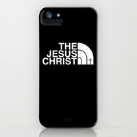 THE JESUS CHRIST iPhone & iPod Case by slapshot36227