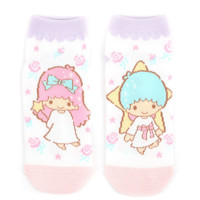 Little Twin Stars Ankle Socks: Kiki & Lala