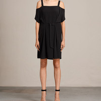 ALLSAINTS CA: Womens Rae Dress (black)