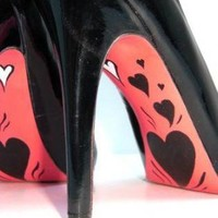 Black Pumps / High Heels - My Heart Beats For You | UsTrendy