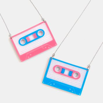 Magic Mixtape necklace