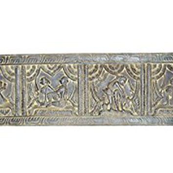 Antique Kamasutra Decorative Hand Carved Headboard Bedroom Decor, Wall Decor