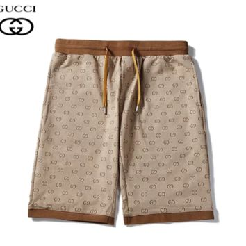 GUCCI New fashion more letter print high quality couple sport shorts