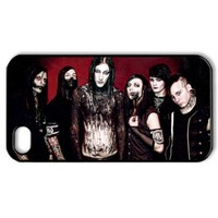 ByHeart motionless in white MIW Hard Back Case Shell Cover Skin for Apple iPhone 4 and 4S - 1 Pack - Retail Packaging - 8266