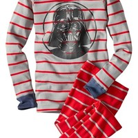 Boy's Hanna Andersson 'Star Wars - Darth Vader' Organic Cotton Two-Piece Fitted Pajamas