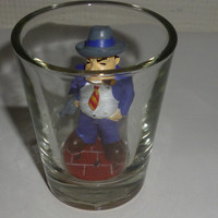 Gangster Al Capone Shot Glass