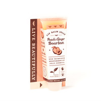 Peach & Ginger Bourbon - All Natural Lip Balm Jelly