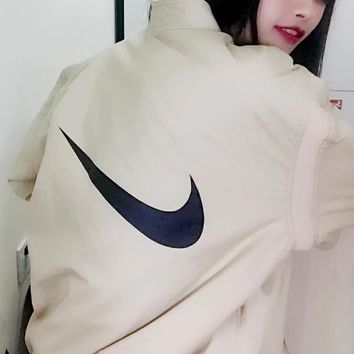NIKE Women Men  Fashion Casual Cardigan Jacket Coat