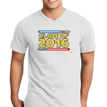 Sci Fi Class of 2016 Adult V-Neck T-shirt