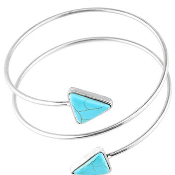 Artificial Turquoise Body Chain