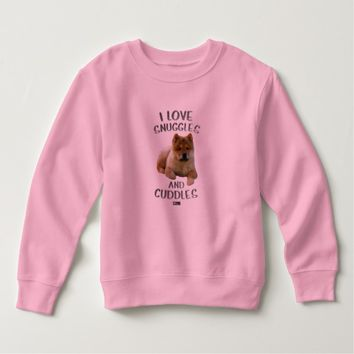 Snuggles Toddler Design by Kat Worth Sweatshirt