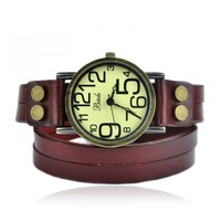 Vintage Style Double Wraps Watch on Luulla