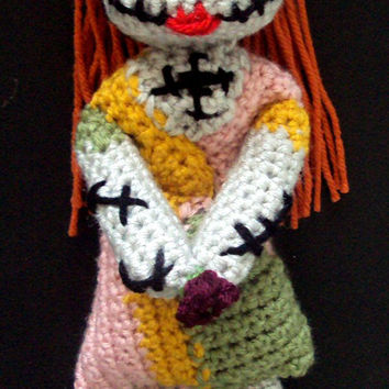 Crochet Sally Nightmare Before Christmas Inspired Doll