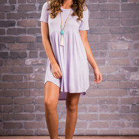 Playful Playlist Dress, Lilac