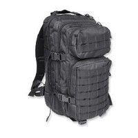Mil-Tec Military Army Patrol Molle Assault Pack Tactical Combat Rucksack Backpack Bag 20L Black