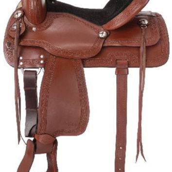 Saddles Tack Horse Supplies - ChickSaddlery.com Tough 1 Bryson Trail Saddle