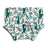 Green Toucan Bloomers by Winter Water Factory