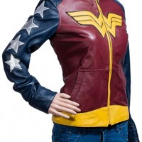 Wonder Woman Jacket- TheJacketMaker.com