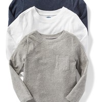 Pocket-Tee 3-Pack for Toddler Boys|old-navy