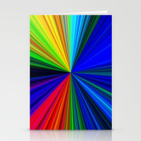 Colours of a Rainbow Stationery Cards by Chris' Landscape Images & Designs