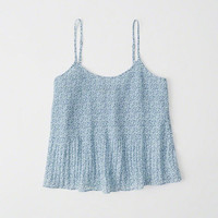 Womens Pleated Cami | Womens New Arrivals | Abercrombie.com