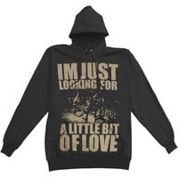 Crown The Empire Men's  Love Hooded Sweatshirt Black