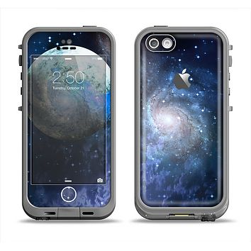 The Foreign Vivid Planet Apple iPhone 5c LifeProof Fre Case Skin Set