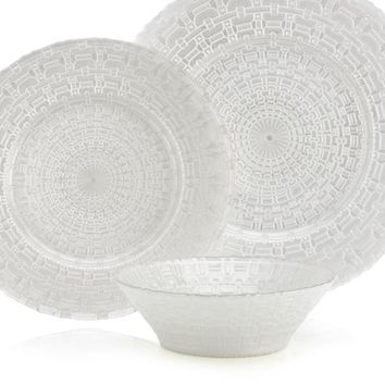 Kronos Dinnerware - Sets of 4 | Sanctuary Entertaining2 | Entertaining | Inspiration | Z Gallerie