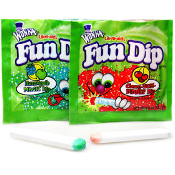 Wonka Fun Dip Candy Packs: 48-Piece Box