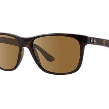 Cheap NEW Ray-Ban RB 4181 710 83 Havana Brown Polarized 57mm Sunglasses outlet