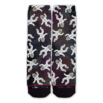 Function - Astronaut Cats in Space Fashion Socks