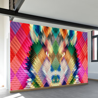 Corporate Wolf Wall Mural